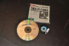 CD Jethro Tull Thick As A Brick Chrysalis – CDP 32 1003 2 uk 1986