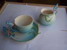 Robert Gordon Australia Milk Jug and Cup and Saucer  Butterfly handles