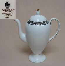 "WEDGWOOD ""ulander"" (black & gold, r4407) pot de café"