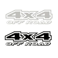 4X4 Off-road 4WD Reflective Car Sticker Carved Door Trunk SUV Pickup Car Decal