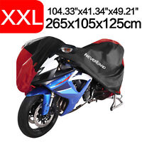 XXL Motorcycle Scooter Cover Heavy Duty Waterproof Outdoor Rain Dust Protection