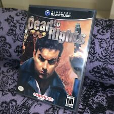 Dead to Rights (Nintendo GameCube, 2002) CIB Complete Tested