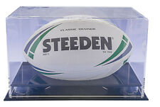 RUGBY BALL DISPLAY CASE CABINET