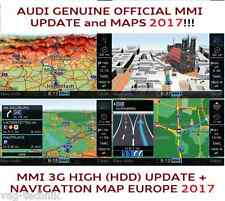 AUDI A4, A5, A6, MMI 3G UPDATE SET 2017 + MAPs, MMI 3G HIGH (HDD), 8R0060884ED