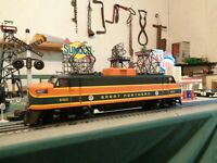 LIONEL 0 GREAT NORTHERN ELECTRIC LOCOMOTIVE in box serviced & ready to pull ! !