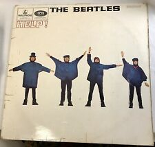 Beatles HELP! 1965 UK 1st Press MONO PMC 1255 British Invasion LP Vinyl Record