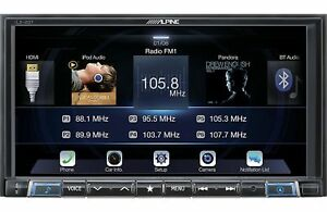 2015-2018 Polaris Slingshot Stereo Alpine Ilx-207 7'' Apple Carplay Android