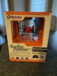 ODYSSEY R/C DRONE TURBO-RUNNER CLIMBING & ROLLING QUADCOPTER CLIMBS CEILINGS New