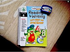 Leapfrog LeapPad  Book/cartridge Tadds day at the letter fac.Very good condition
