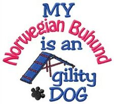 My Norwegian Buhund is An Agility Dog Short-Sleeved Tee - Dc1762L