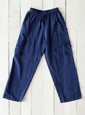 GRINGO fair trade NEPALESE cotton CARGO TROUSERS baggy COMBATS hippy PANTS NAVY