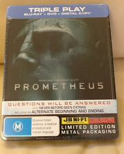 Prometheus Bluray Steelbook (VMB) , Australia Jbhifi Edition, New/Sealed