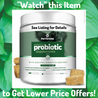 BEST Probiotics for Dogs w Prebiotics Enzymes Natural Digestive Soft Chews USA