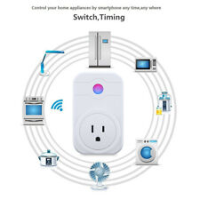 Smart Wi-Fi Socket Plug Outlet Timer Control Power Electronics for Alexa APP NEW