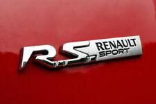 LOGO RENAULT RS renault sport CLIO MEGANE GT 848908319R BADGE ORIGINAL dernier
