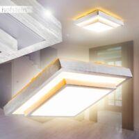 Plafoniera LED Lampada Soffitto Metallo Salotto Camera Cucina Design Luce 24 W