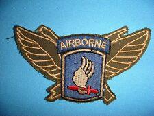 VIETNAM WAR PATCH, US 173rd AIRBORNE AIR ASSAULT