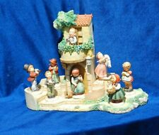 Goebel Torhaus Garden Hummel Display w/ 8 Figurines Designed by Olszewski 1991