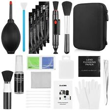 Zacro Professional Camera Cleaning Kit with Blowing Bottle, Cleaning Solution...
