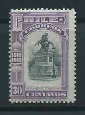 CHILE 1910 Sc.92 O'Higgins 30 cts Independance Centenary MH