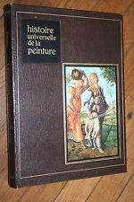 HISTOIRE UNIVERSELLE DE LA PEINTURE L'HOMME EN PERSPECTIVE éd FAMOT 1978