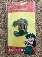 Lilo Hula Dancing Slider Lilo & Stitch Hawaii Disney Store Pin