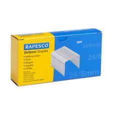 [Ref:S24602Z3] RAPESCO Boite de 5000 Agrafes Galvanisées 24/6mm