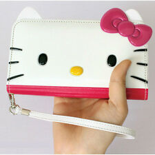 Genuine Hello Kitty Face Wallet Case Galaxy Note 10/Note 10 Plus made in Korea