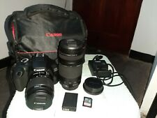 Canon EOS 4000D with 75-300mm Lens