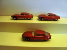 3 x Matchbox No.51 Citroen SM
