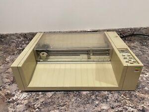 RARE Apple 410 Color Plotter Printer for Apple II III Lisa Mac 128k 512k