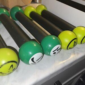 5 Zumba weights