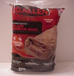 Big Game Hunter Deluxe Quarter Bags Allen (4pack) Outfitter Grade Elk Caribou