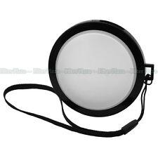 82mm White Balance WB Lens Front Cap w/Filter Mount for Canon Nikon Sony DSLR DV