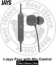 New Jays t-Jays Four In-Ear Earphone w/Mic Headsets For iPhone 6 Plus 5s iPod