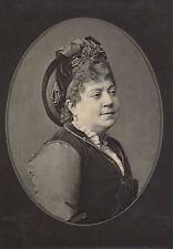 Actrice Théâtre XIXe - Aline DUVAL - ab56