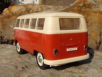 RC VW BUS T1 Modell CLASSIC mit LICHT Länge 26cm Ferngesteuert 27MHz      400120