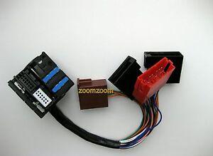 Audi a3 a4 a6 TT Allroad PLUG & PLAY Adapter RNS-E Navigation ISO Fakra Quadlock