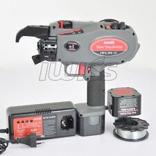IWS-395 Portable Rebar Tying Machine Tying from 8-45mm(dia) With 2NI-MH Battery