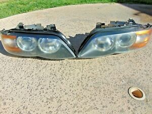 04-06 BMW X5 E53 Xenon Headlights Adaptive Restored Lens LH & RH Both Pair Nice