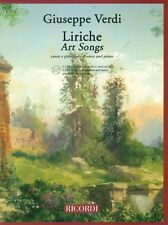Liriche Art Songs Voice and Piano Vocal Collection Book and CD NEW 050486586