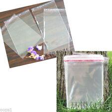 500PCS Wholesale Lots Self Adhesive Seal Plastic Bags 3x7cm #M1578 QL