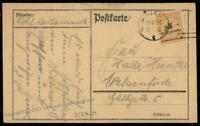 Germany High Inflation Cover Nov 19 1923 Mi327AP Last Day Rate 72334