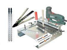 Festool Bosch Metabo +2 Stichsägeblätter lang + Stichsägetisch Trenn-Biber 012L