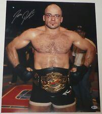 Bas Rutten Signed 16x20 Photo Beckett COA UFC 18 20 Pancrase Belt Picture Auto'd