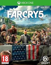 FAR CRY 5 Xbox PAL UK NUOVO One e SIGILLATO