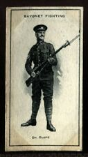 Tobacco Card, Imperial Canada, INFANTRY TRAINING, 1915, Bayonet Fighting, #38