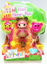 NEW! Mini Lalaloopsy Figure Doll Teddy Honey Pots #2 of Series 12 Exclusive RARE