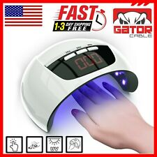 Ultraviolet UV Light LED Nails Gel Polish Dryer Lamp Salon Manicure Curing 54W