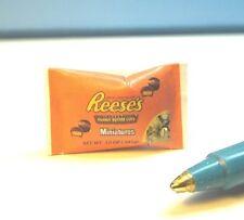 "Dollhouse Miniature ""Pretend""12oz Peanut Butter Chocolate Bag:   LB297"